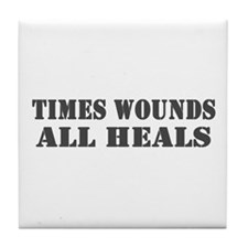 Times Wounds Tile Coaster