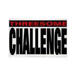 Threesome Rectangle Magnet (10 pack)