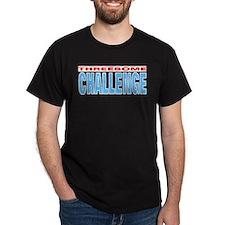 Threesome Black T-Shirt