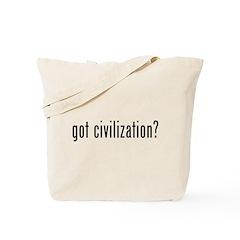 got civilization? Tote Bag