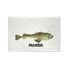 Monkfish Rectangle Magnet