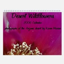 Desert Wildflowers Wall Calendar