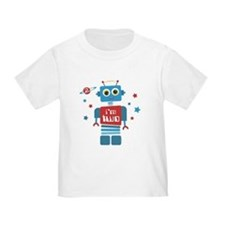 Robot 2nd Birthday T