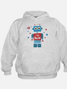 Robot 2nd Birthday Hoodie