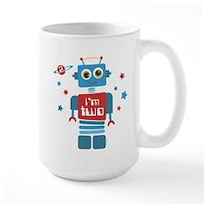 Robot 2nd Birthday Mug