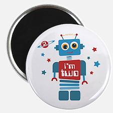 Robot 2nd Birthday Magnet