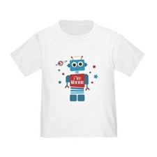 Robot 3rd Birthday T