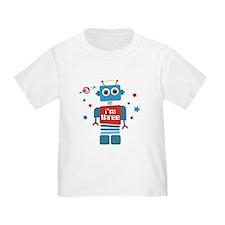 Robot 3rd Birthday T