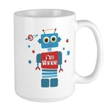 Robot 3rd Birthday Mug