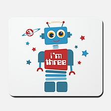 Robot 3rd Birthday Mousepad