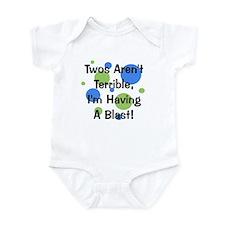 Twos Aren't Terrible Infant Bodysuit