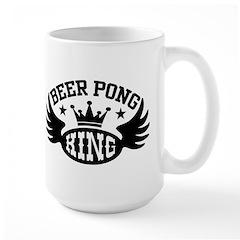 Beer Pong King Mug