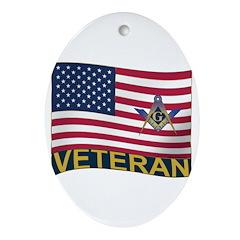 Brother Veteran Ornament (Oval)