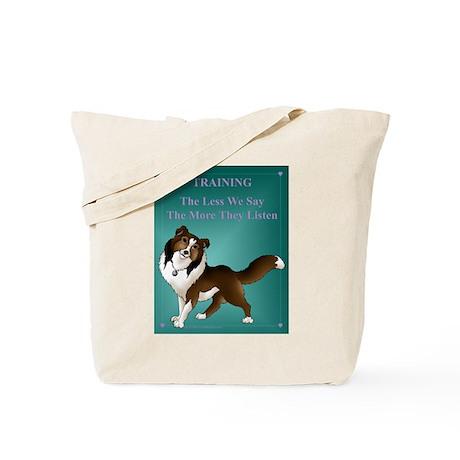 Say Less Tote Bag