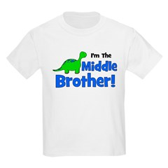 MIDDLE Brother! Dinosaur T-Shirt