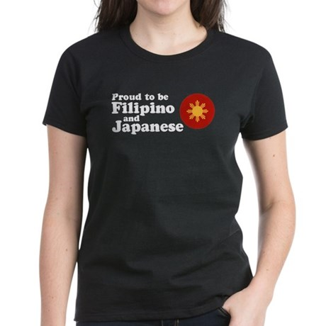 Filipino and Japanese Women's Dark T-Shirt