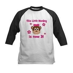 Little Monkey is 3! Tee