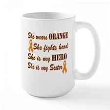 She is Sister and Hero, Orang Mug