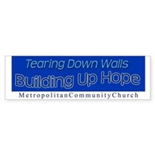 Tearing Down Walls Bumper Sticker