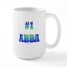 #1 Abba Father's Day Coffee Mug