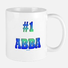 #1 Abba Father's Day Mug