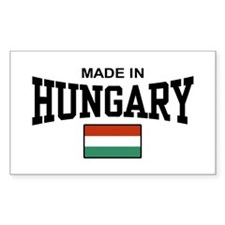Made In Hungary Decal