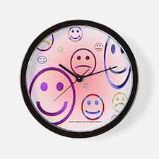 Smileys Wall Clock