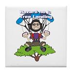 Tree Lander Tile Coaster