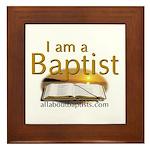 Baptists Framed Tile