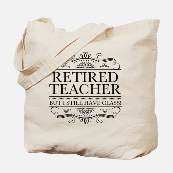 Unique Retired teacher Tote Bag