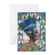 Unique Egypt Greeting Card