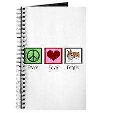 Peace Love Corgis Journal