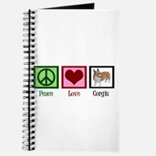 Peace Love Corgis Journal