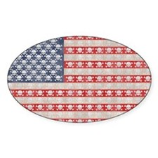 American Pirate Flag Decal