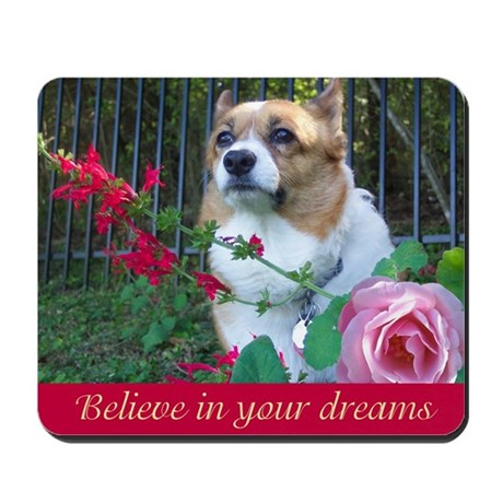 Corgi Dreams Mousepad