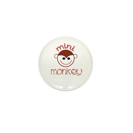 Mini Monkey Mini Button