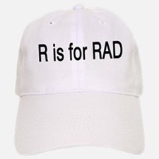 R is for Rad Baseball Baseball Cap
