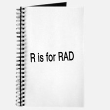 R is for Rad Journal