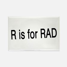 R is for Rad Rectangle Magnet
