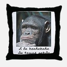 A la recherche du temps perdu Throw Pillow