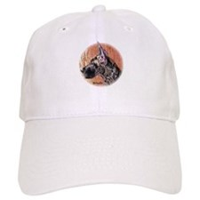 Great Dane Brindle Pup Baseball Cap