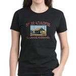 P E Cafe Women's Dark T-Shirt