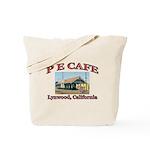 P E Cafe Tote Bag