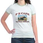 P E Cafe Jr. Ringer T-Shirt