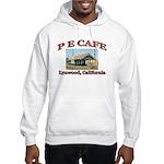 P E Cafe Hooded Sweatshirt