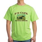 P E Cafe Green T-Shirt