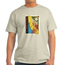 Vintage California Pin Up Shirt