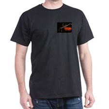 Milk Farm Neon Black T Shirt