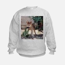 Wolf Pup Sweatshirt - Dutchess