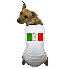 Ski The Alps Torino Italy Dog T-Shirt